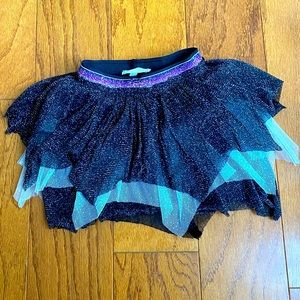 Truly me   sparkly black gray and purple tutu
